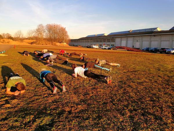 Bootcamp Plank